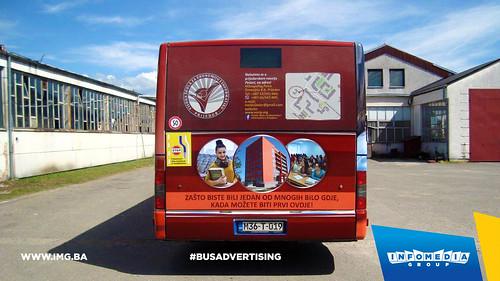 Info Media Group - Visoka škola za ekonomiju i informatiku Prijedor, BUS Outdoor Advertising, Prijedor 06-2016 (2)