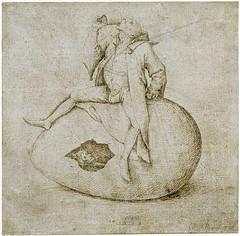 The drunkard ends up in an empty egg-shell (petrus.agricola) Tags: drawing pieter bruegel elder