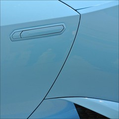 Lamborghini (me*voil - on and off) Tags: lamborghini car abstract door blue lines carstract showroom berlin