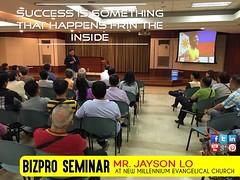 BIZPRO NMEC Seminar Event with Jayson Lo (BIZPRO NMEC) Tags: bizpronmecseminareventwithjaysonlowasheldlastjuly26 2016atnewmillenniumevangelicalchurch malatemanilaphilippines jayson lo nmec bizpro speaker motivational inspirational july 2016 events conference convention
