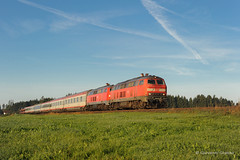 BR218 DB FERNVERKEHR - HERGATZ (Giovanni Grasso 71) Tags: br218 db fernverkehr mtu diesel br225 br217 hergatz allgau giovanni grasso nikon d700 ec locomotiva idraulica monaco lindau immenstadt kempten