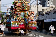 Summer's Snap 2016 : Gion Yamagasa Festival (Colorful-wind) Tags: 2016 7 city color colorful colors downtown festival fujifilm fukuoka japan july kitakyusyu light lightandshadow summer xt1