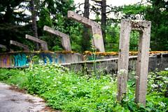 1984 Olympic Bob Track (II) (Nuuttipukki) Tags: bosnia 1984 olympics olympia olympic games olympische spiele sarajevo sarajewo winter bob sledge bobbahn sport decay lost place