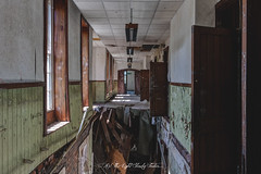 If An Asylum Corridor Collapses And There's Nobody There, Does It Make A Sound?. . (As The Light Slowly Fades...) Tags: urbex abandoned asylum hospital derelict forgotten