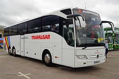 HN16ELS (SNAPPER60809) Tags: busesfestival gaydon nh16els trafalgar mercedes benz tourismo humphries