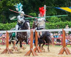 Score! (pattyg24) Tags: bristolrenaissancefaire kenosha wisconsin armor costume horse joust knight man summer