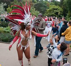 Five Five (McTumshie) Tags: hornimanbrazil 20160904 hornimancarnival hornimanmuseum london paraísoschoolofsamba carnival costumes dance dancing england unitedkingdom