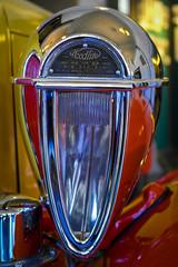 Headlamp (katiepredd) Tags: car cord headlight closeup vintage automobile antiqueauto antique vehicle