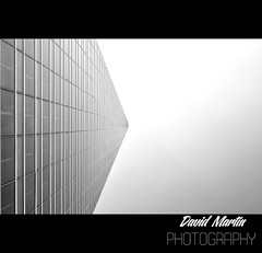 Torre Espacio (David Martín Cas) Tags: europe europa madrid españa spain ctba rascacielos skyscraper building torre tower monochrome edificio nikon d3100 cielo sky height torreespacio cuatrotorresbusinessarea architecture