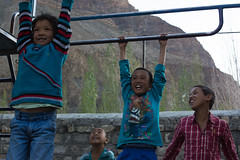 Games_Tabo_Spiti_valley_india_16_IMG8256 (annalisa gallo) Tags: rosso children game india young tabo spiti valley himalayan colors school