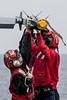 161013-N-OI810-682 (U.S. Pacific Fleet) Tags: ussronaldreagancvn76 invinciblespirit2016 fa18f vfa102 flightdeck aim9x csg5 ordnance