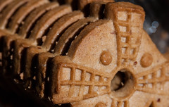 A Yummy Treat ... Almond Windmill Cookies (flat6s) Tags: macromondays sweetspotsquared bokeh depthoffield sonya700 minolta 50mm macro lens fotodiox lensadapter windmillcookies spekulatius speculaas cookies flickrfriday simplyirresistible