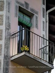 Andorra architecture: Old houses: Escaldes, E-E, the center, Andorra (lutzmeyer) Tags: 1935 20thcentury 300mm andorra andorracity avingudacarlemany ee escaldes europe iberia iberianpeninsula lutzmeyer pirineos pirineus pyrenees pyrenen xxsegle alteshaus antic art autumn balco balcon balcony balkon bild center centre city escultura foto fotografie hauptstrasse herbst historisch history iberischehalbinsel image imagen imatge lutzlutzmeyercom mainroad mfmediumformat oldhouse otono photo photography picture sculpture september septiembre setembre setiembre skulptur sonnenaufgang sortidadelsol stadtgebiet sunrise tardor urban urbanity escaldesengordany