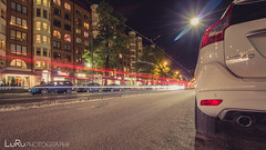 XC 60 (LuRu Photography) Tags: gothenburg gteborg volvo xc60 lzb longexposure street tram schweden