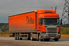 Scania R400   447  116 (RUS) (zauralec) Tags: kurgancity therouter254irtysh254 transport company delco  scania r400  447  116 rus