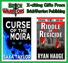 Holiday Gift Guide From A-Z: X is for X-citing Gifts From BrickWarriors Publishing (MandaBW) Tags: christmas holiday ryan books gift presents taylor guide publishing novels saxa hauge brickwarriors