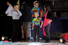 Kristi Yamaguchi and Paul Wylie (with Paul's family)