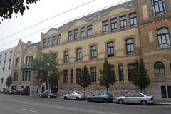 2014_Budapest_0226 (emzepe) Tags: school facade high hungary budapest ungarn dürer 2014 sor lycée istván hongrie városliget ősz szent október épület gimnázium szép iskola középiskola ajtósi homlokzat eklektikus
