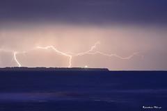 Orage - le de Groix (2) (Ronan Bzh) Tags: mer lighthouse nikon novembre ngc large bretagne tamron nuit phare nocturne orage bzh finistre digue le 2014 groix foudre dolan 1750mm penmen d7100