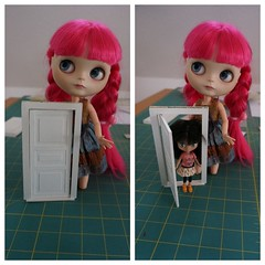 41/365 a petite door / Petite house makeover