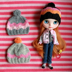More hipster bobble hats
