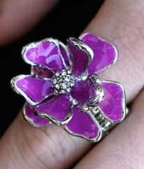 Glimpse of Malibu Purple Ring K2 K4161A-5