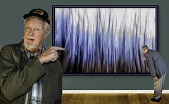 Fools and Durn Fools (Wes Iversen) Tags: people men art caps humor selfportraits galleries toothpicks icm composites odc hss selfies intentionalcameramovement nikkor18300mm ourdailychallenge sliderssunday