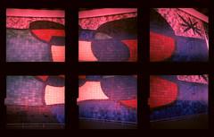 Miro Mosaic (pho-Tony) Tags: barcelona camera old italy 120 film vintage lens xpro crossprocessed italian fuji cross pair twin iso stereo velvia duplex realist processing roll 100 24mm stereopair e6 bakelite 25mm f63 rollfilm c41 24x24 brevettato tetenal autaut f25mm 24mmx24mm duplex120 iperang