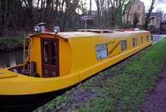 You Plonker (Mike Serigrapher) Tags: forest boat canal cheshire peak narrow barge romiley trotters