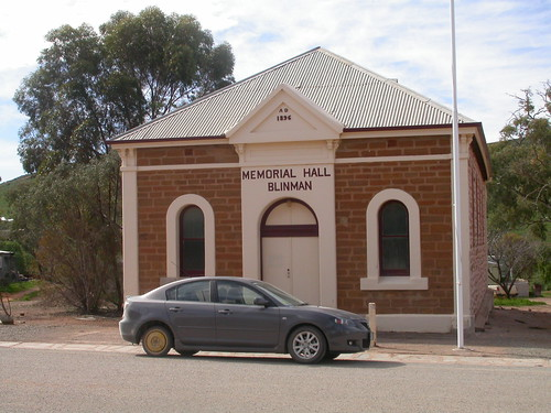 231 Memorial Hall (1896), Blinman, South Australia