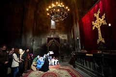 Sunday in Keghart (Hovork, wherefore and why.) Tags: armenia armenianchurch geghard keghart