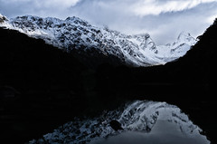 Landscapes - South Island, New Zealand (Luminor) Tags: new leica lake mountains clouds reflections island track shadows pacific hiking south places zealand german sin xv tones compact benedict luminor leic apsc leicaimages xvario