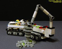 58_Tracked_Driller (LegoMathijs) Tags: expedition energy lego crystal space wheels tracks mining technic modular planet scifi vehicle drill containers miners moc ores legomathijs oswion