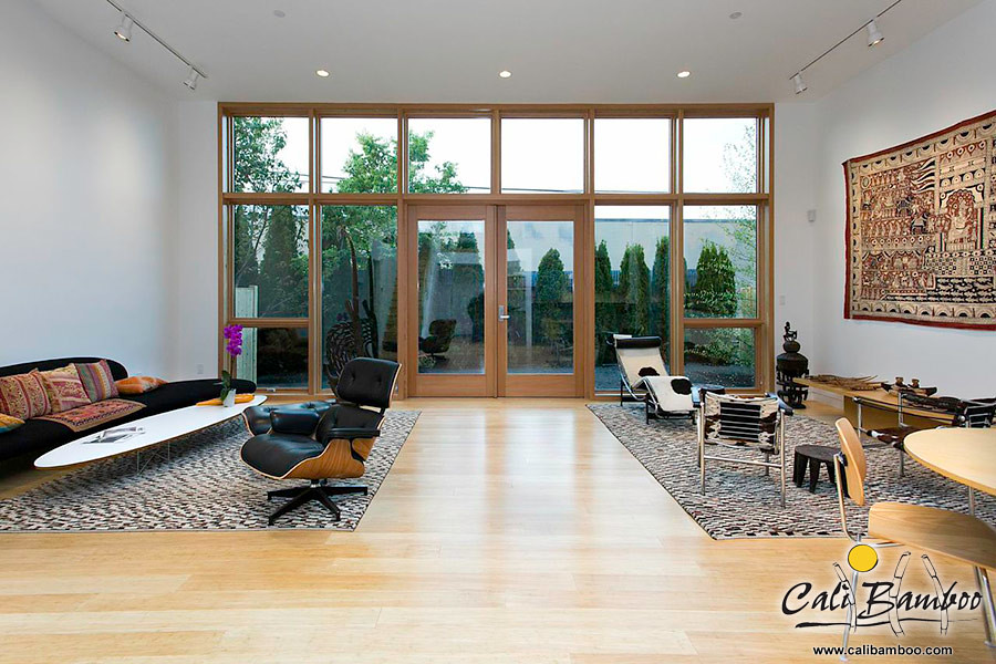 solid bamboo flooring - natural fossilized ® strand - cali bamboo