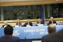 Luigi Cocilovo, Marielle de Sarnez, Jean-Claude Juncker, Franois Bayrou & Francesco Rutelli (PDE-EDP) Tags: logo fb marielle rond rutelli banderolle juncker bayrou sarnez cocilovo