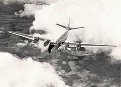 Heron G-ANCJ c1955 (Proplinerman) Tags: 1955 heron aircraft airliner dehavilland propliner dh114 dehavillandheron cn14082 gancj vplib heron2c 6yjed n553pr