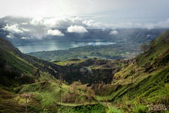 Mount Batur Bali (eduardopradana) Tags: bali mountain lake landscape mount batur