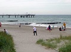 Heiligendamm / Baltische Zee (dietmut) Tags: germany balticsea duitsland mecklenburgvorpommern 2014 panasoniclumix baltischezee julijuly dmcfx500 dietmut mecklenburgvoorpommeren