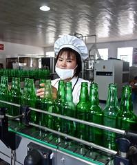 Sparkling Water Factory (EleanorGiul ~ http://thevelvetrocket.com/) Tags: asia northkorea dprk coreadelnorte nordkorea    coredunord coreadelnord justinames  coriadonorte northkoreanwoman visitnorthkorea httpthevelvetrocketcom eleonoragiuliani eleonoraames sparklingwaterfactory