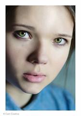 (C. A. M) Tags: portrait beauty closeup scotland model natural glasgow manga headshot greeneyes agency newface camcreative