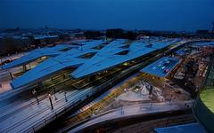 Hauptbahnhof (jayzeapix) Tags: vienna wien station train team blu albert hoffmann ernst central hauptbahnhof wiener theo blau hbf bb wimmer arge hotz bahnorama