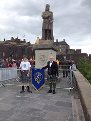 ... On The Right Is My Husband Jimmy In His Kilted Finery At Stirling  Castle, Beneath ...