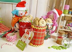 Que delícia! (Ateliê Bonifrati) Tags: christmas cute natal diy cookie craft tutorial pap receitas passoapasso bonifrati biscoitosdenatal craftchristmas
