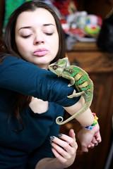 M.Alice & Kowalski (unSaint Saturn) Tags: people chameleon