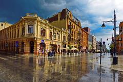 130_5395 AFTER THE RAIN. (J Rutkiewicz) Tags: city streets rain miasto ulice łódż podeszczu
