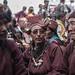 Locals at the Sani monastery festival, Zanskar, India