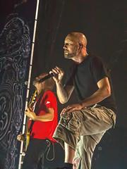Meshuggah (Stephen J Pollard (Loud Music Lover of Nature)) Tags: livemusic vocalist concertphotography guitarist vocalista guitarrista meshuggah jenskidman fredrikthordendal