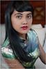Cheongsom Boudoir (shallowend) Tags: red portrait sexy mouth garden asian nikon lotus florida longhair silk lips exotic speedlight blackhair diffuser onone lastolite cs5 d700 sb900 cheongsom ezybox perfectphotosuite
