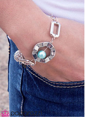 Glimpse of Malibu Blue Bracelet K1(vb06)