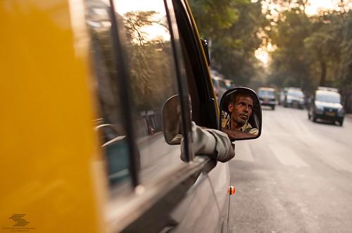 Taxi guy portrait